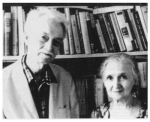 Philosopher Jacques Maritain and his wife Raissa